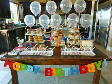 Donut Theme Birthday Party Ideas