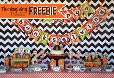 thanksgiving-party-free-printable-banner-cupcakes