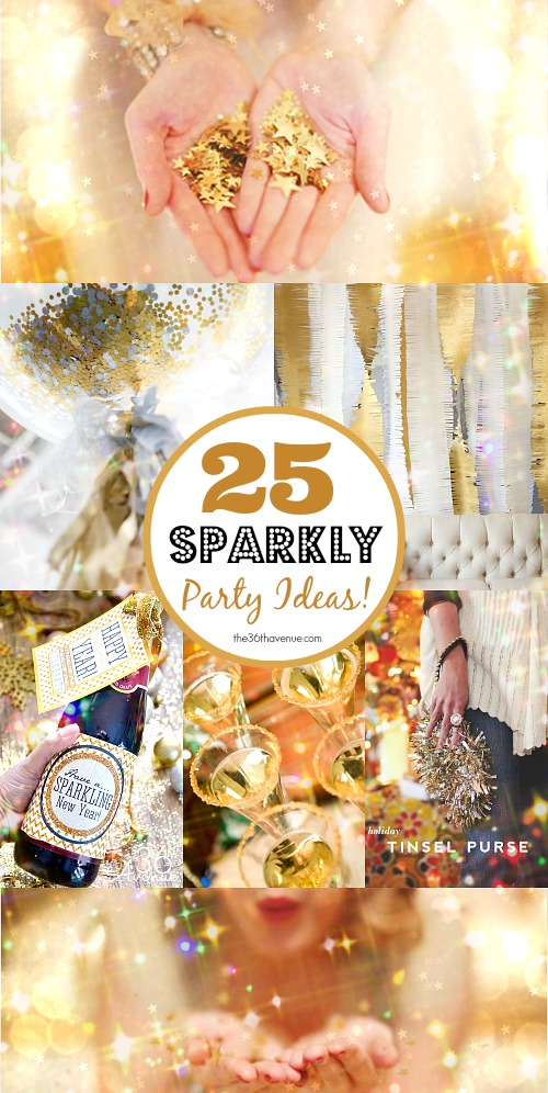 Sparkly-Party-Ideas-the36th