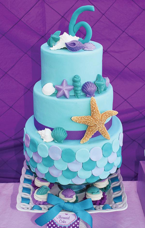 8 Mermaid Themed Birthday Cakes Party Ideas