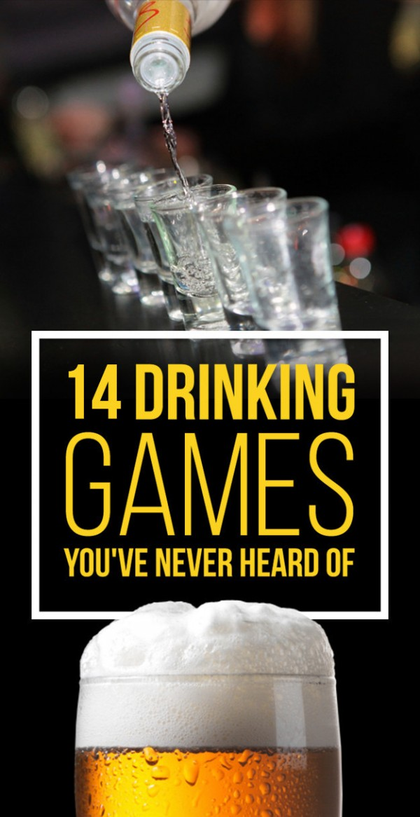14 Drinking Games You've Never Heard Of – Party Ideas