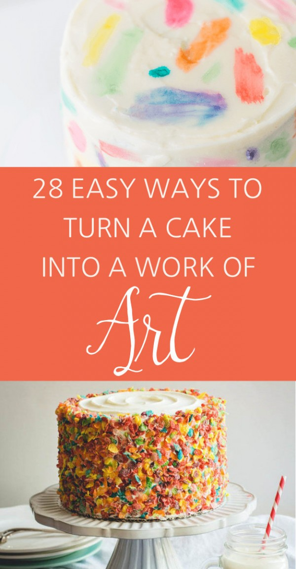Turn Cake Into Art
