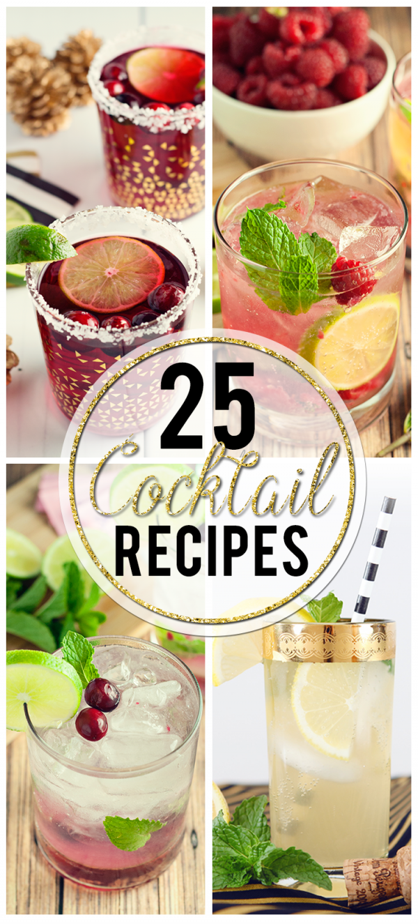 25 Festive New Year's Eve Cocktails – Party Ideas
