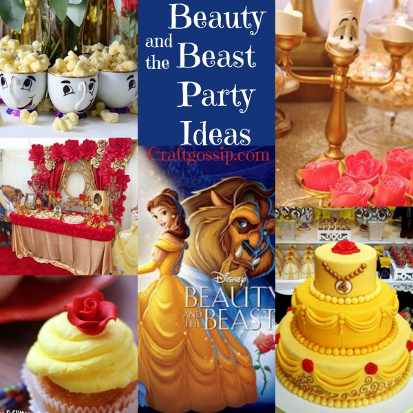 Beauty and the beast party ideas party ideas for Beauty and beast table decorations