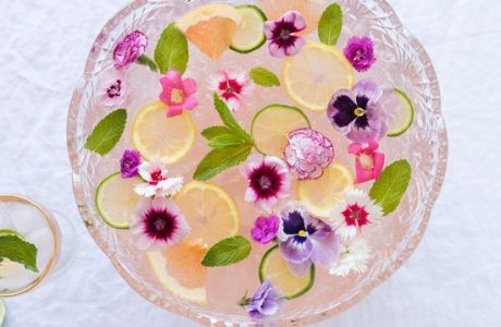 Party Food – Rose Punch