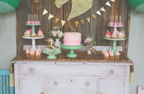 Rustic Unicorn Party