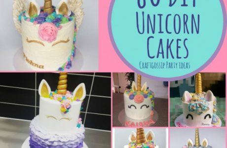 80 DIY Unicorn Cake Ideas