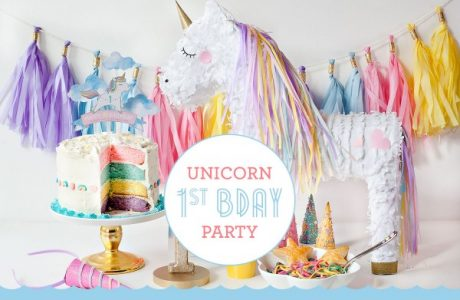 Unicorn 1st Birthday Party