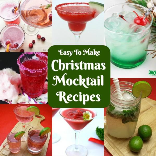 Festive Christmas Mocktails
