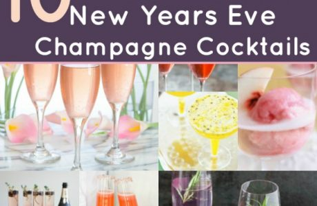 10 Champagne Cocktails for NYE