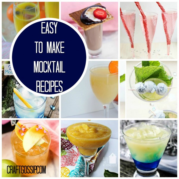 NYE Mocktail Drinks